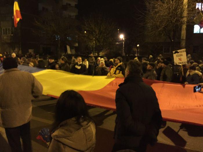 Protest Cluj ianuarie 2017