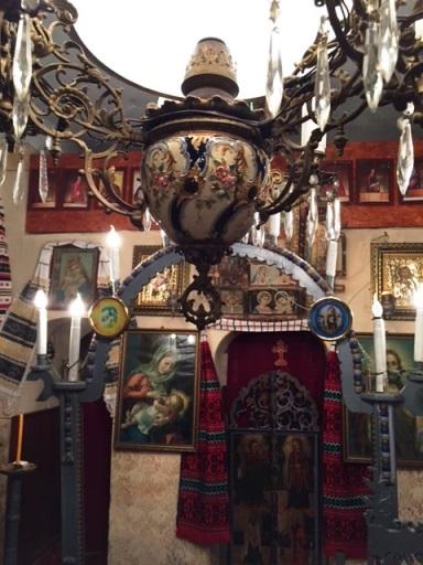 candelabru biserica