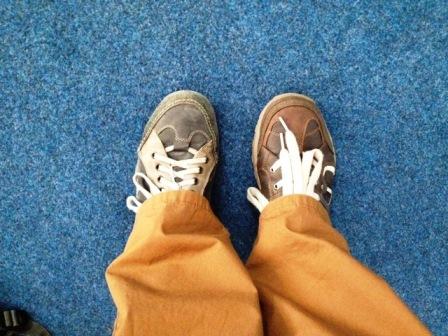papucii invers