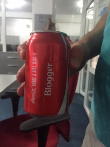 coca cola blogger