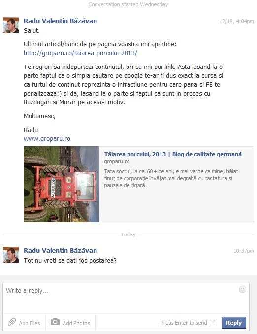 Facebook hoti