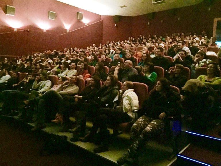 Filmul Usturoi la cinema Marasti, 17 dec 2015