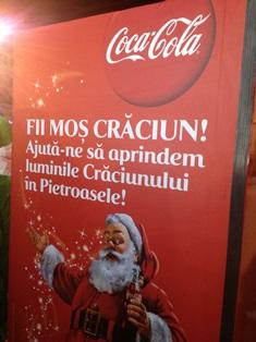 Mos Craciun Coca Cola